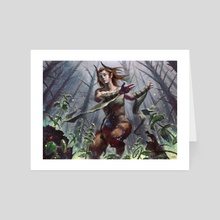 Skola Grovedancer- - Art Card by Josh Hass