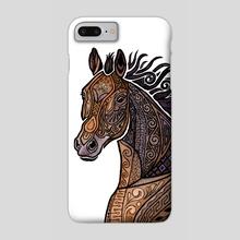 Grecian Horse - Phone Case by Zanna Field