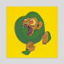 Monkey - Canvas by Mattie M.