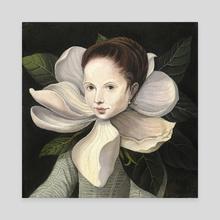 Magnolia - Canvas by Evgeniya Vladykina