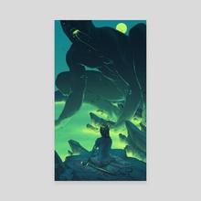 Albatross - Canvas by Taychin Dunn