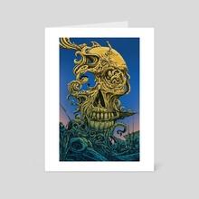 Blind - Cold - Art Card by Raf Banzuela