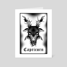 Capricorn - Art Card by Cody Blvk