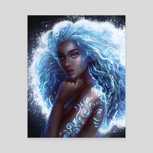 Ocean Goddess - Canvas by Sandra Winther