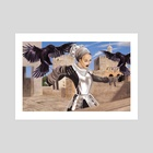 Surma the Crow Tamer - Art Print by William Jamison