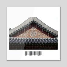 (Mini-cut) Octagon Palace  - Acrylic by John Jackson