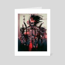 Japan's Oni - Art Card by John Trinh