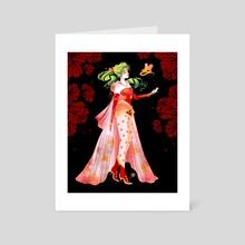 Terra - Art Card by Paula Zorite