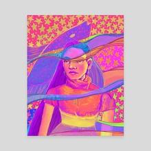 Overwhelm - Canvas by Brianna Thorsen