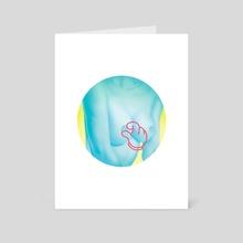 Pinch - Art Card by Andrei Nicolescu
