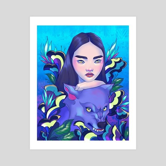Moon by Yenillustrates