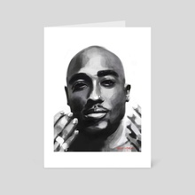 Pac - Art Card by Marouane Bembli