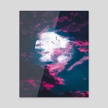 New Night - Acrylic by Ryan Ford