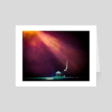 Faith 1 - Art Card by james williams
