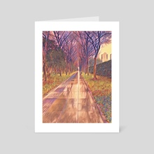 An Endless Stroll - Art Card by Iochim Groves
