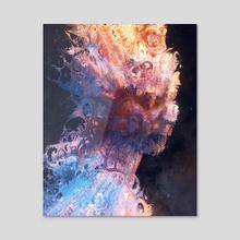 Queen of Nightmares - Acrylic by David Dura