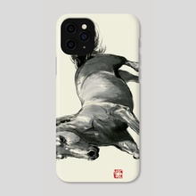 Horse - 2 - Phone Case by River Han