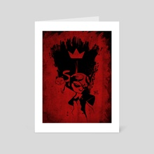 Hellboy - Black n' Red - Art Card by Martin Kirby