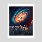 Abyss - Art Print by Trey Patterson