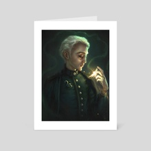 Draco - Art Card by Lin Romanov