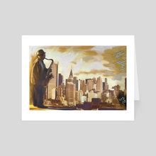 new york blues - Art Card by MD JO