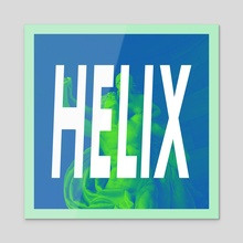 HELIX - Acrylic by Pleastic