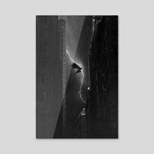 Vengeance  - Acrylic by Kode Subject
