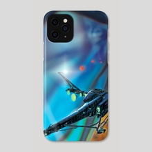 Catchship 55 - Phone Case by Paul Rivoche