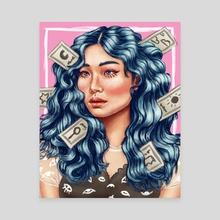 Hair Day - Canvas by Roberto Atanacio Jr.