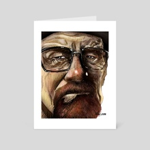 Heisenberg - Art Card by Al Barazi