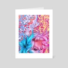 Lola - Art Card by Rebecca Obst
