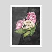 Izquierda - Acrylic by Terri Nelson