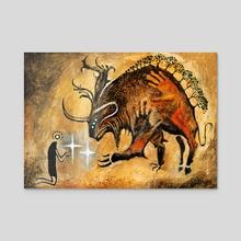 Mythos of Brokkos - Acrylic by Seb McKinnon