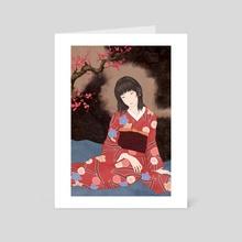 Harutonari - Art Card by Sai Tamiya