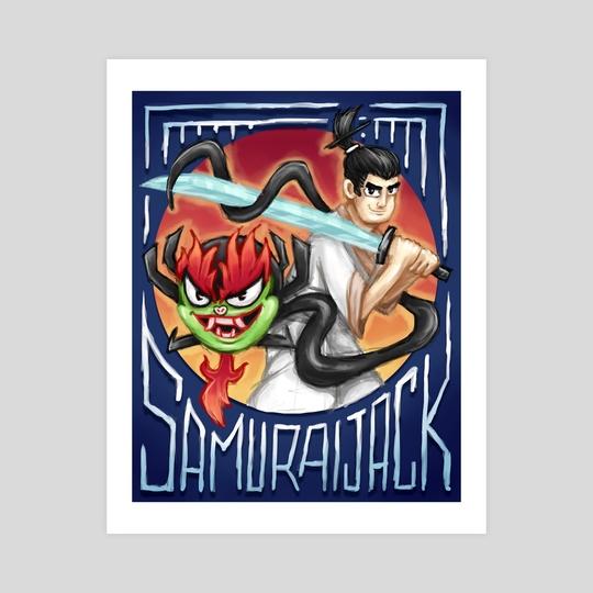 Samurai Jack by Roberto Atanacio Jr.