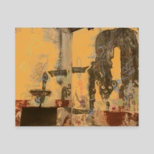 Bubble Monkey  - Canvas by Kabriele Rosas