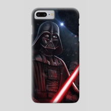 Darth Vader and the black death - Phone Case by Giordano Aita