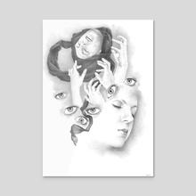 Popshot Magazine Issue 21 Illustration - Acrylic by Renzo Razzetto