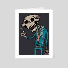 Evangelist of death Zoom - Art Card by creativo sindueno