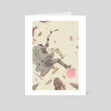 Ad Astra - Art Card by awanqi