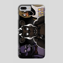 Five Nights at Freddy's - Phone Case by Maureen Hiebert