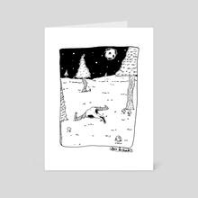 fullmoon - Art Card by Sara Reichard