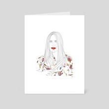 Anna Prior Misc - Art Card by Marlène Neto