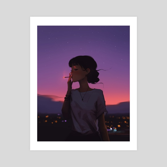 Sunset Smoke by Sam Yang