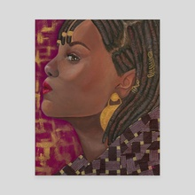 Portraits of Black Women I Have Yet to Name: VII - Canvas by the monarq