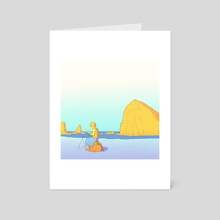 Warm Melody - Art Card by Laurent Hrybyk