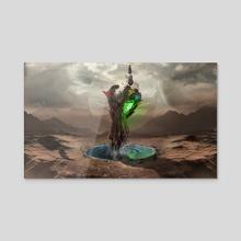 Finding Infinity  - Acrylic by Kode Subject
