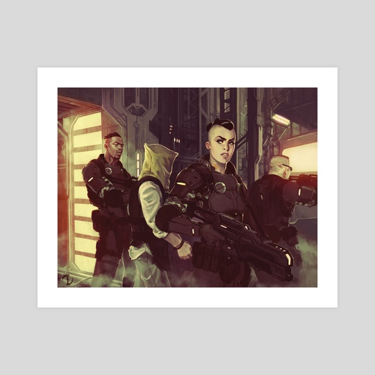 Mercenary Group by Adam Schumpert