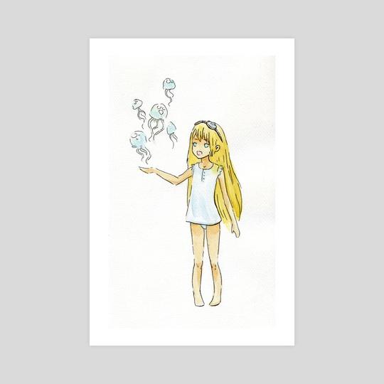 Jellyfish Girl by Indré Bankauskaité