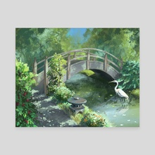 Garden - Canvas by Ashley.art